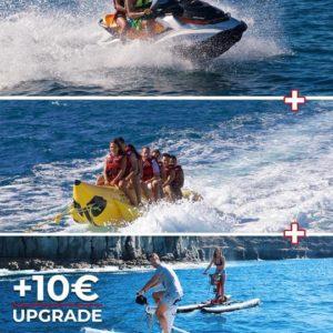 Basic pack: jetski + banana + upgrade