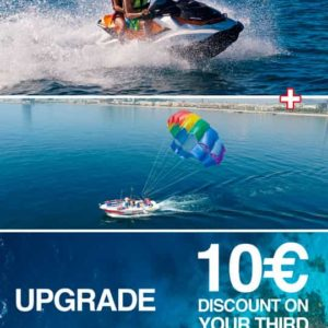 Premium pack includes jets, parasailing and a discount