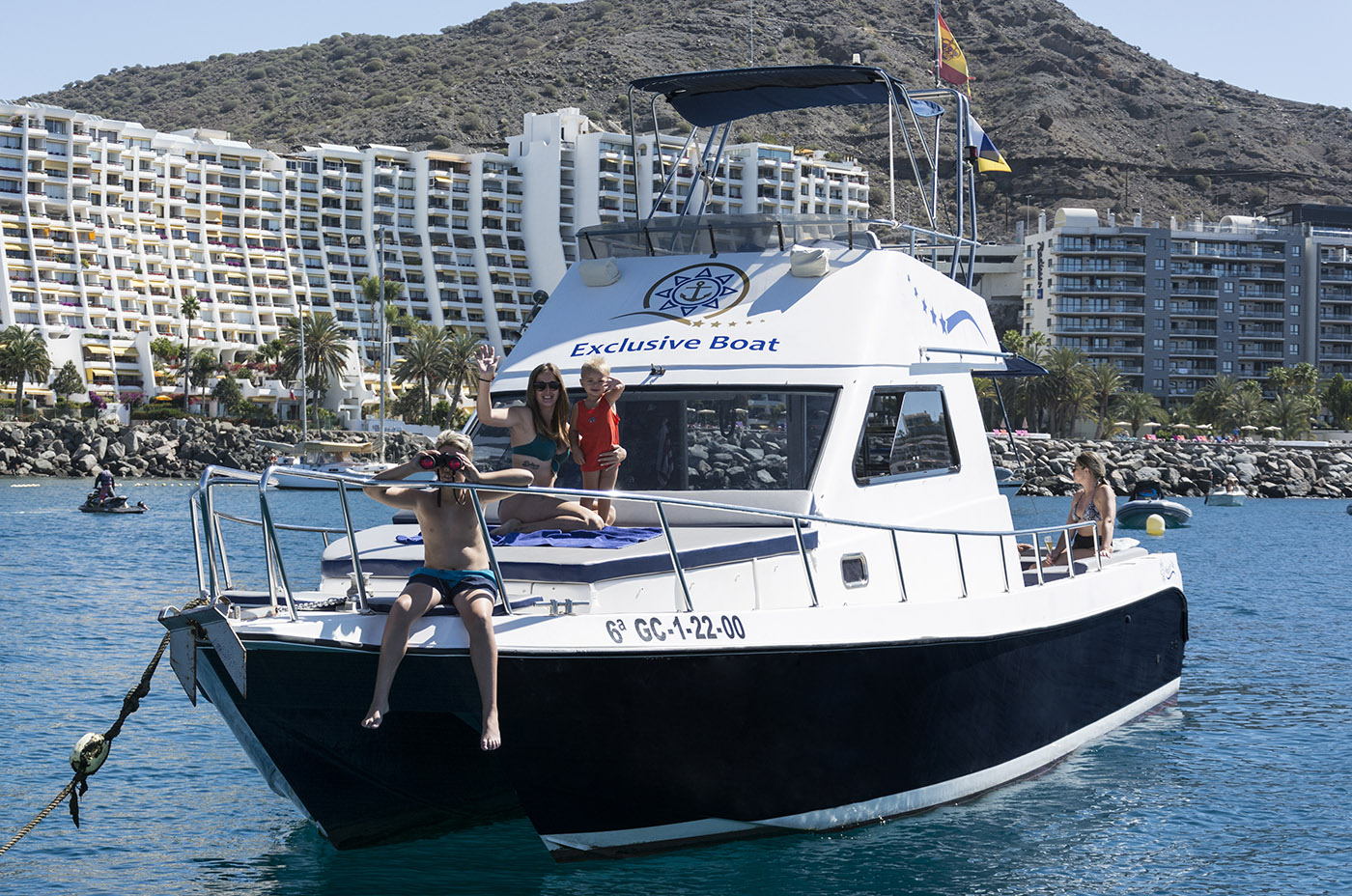 Yacht Excursion in Canarias